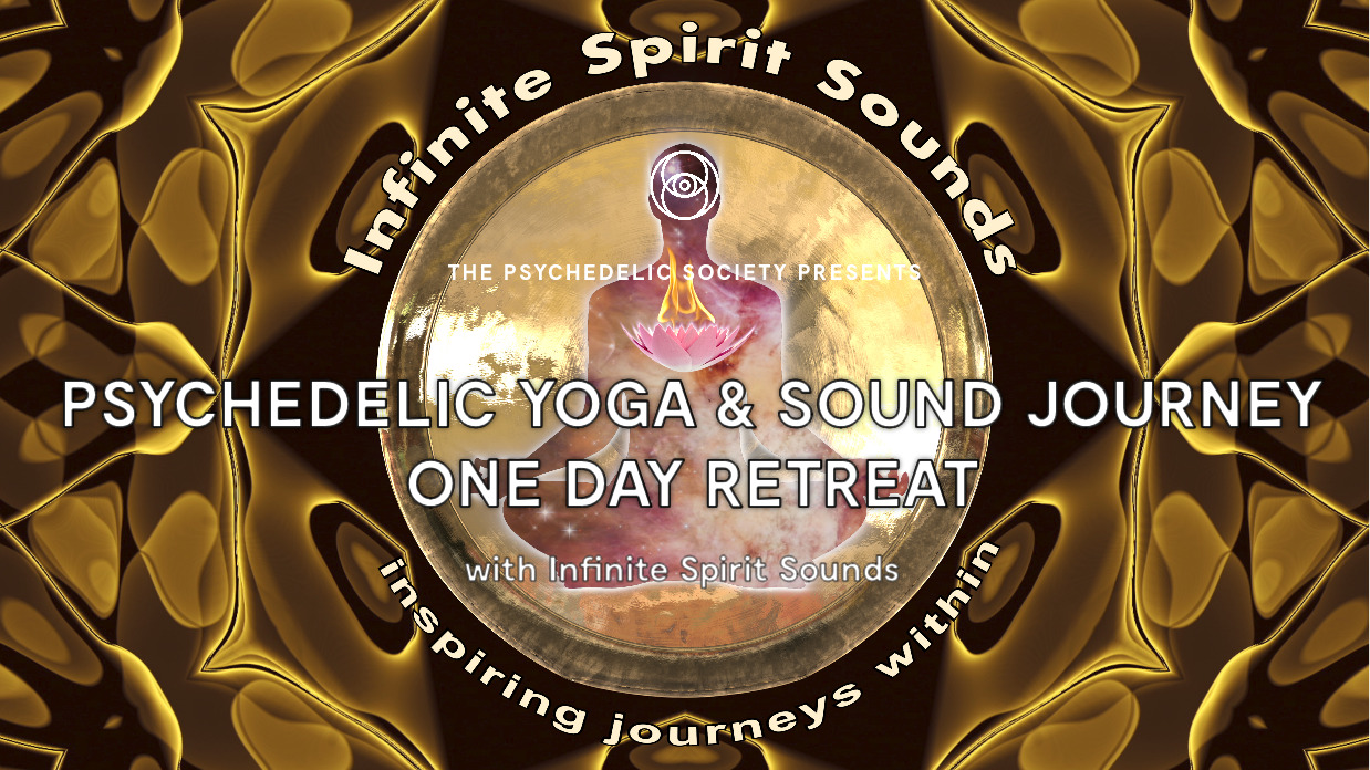 Psychedelic Yoga & Sound Journey One day retreat full cover)