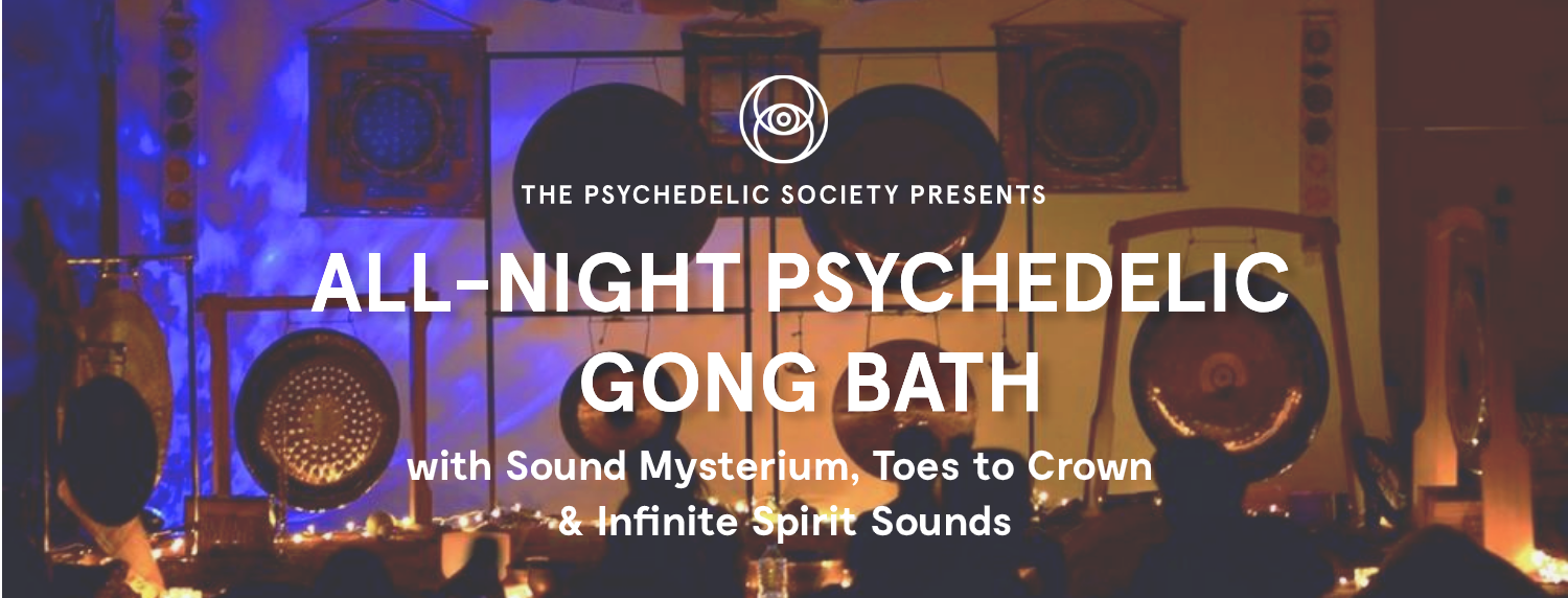 All Night Gong Bath NYE